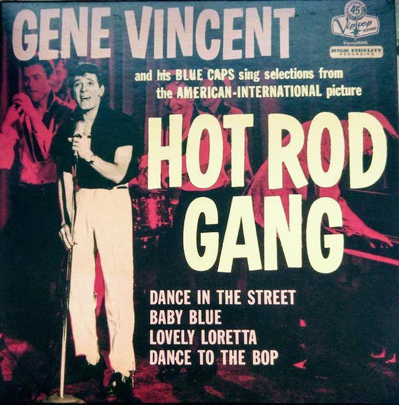 Gene Vincent And His Blue Caps: Hot Rod Gang