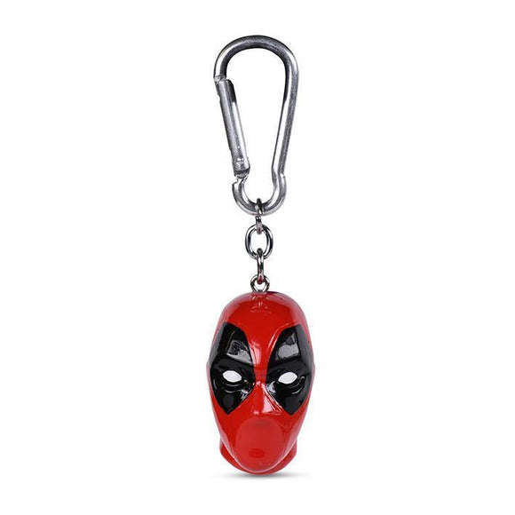 DEADPOOL (HEAD) 3D KEYCHAIN