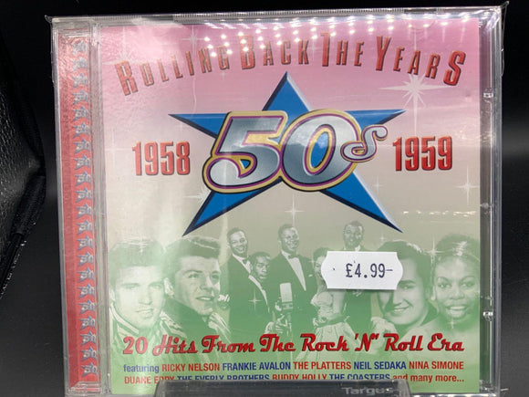Various: Rolling Back The Years 50s: 1958 1959