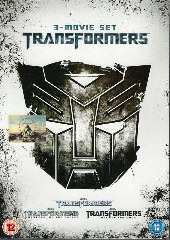 Transformers Trilogy Box Set NEW & SEALED DVD