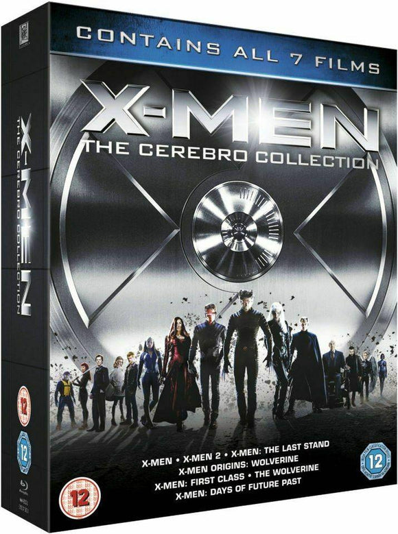 X-Men: The Cerebro Collection (7 Film Box Set) NEW & SEALED BLU-RAY