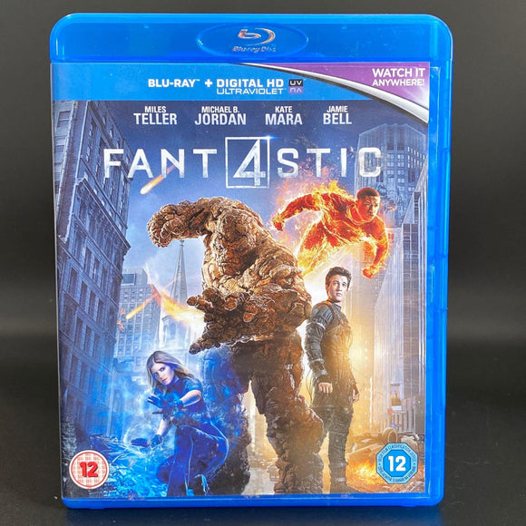 Fantastic 4 (2015) PREOWNED BLU-RAY