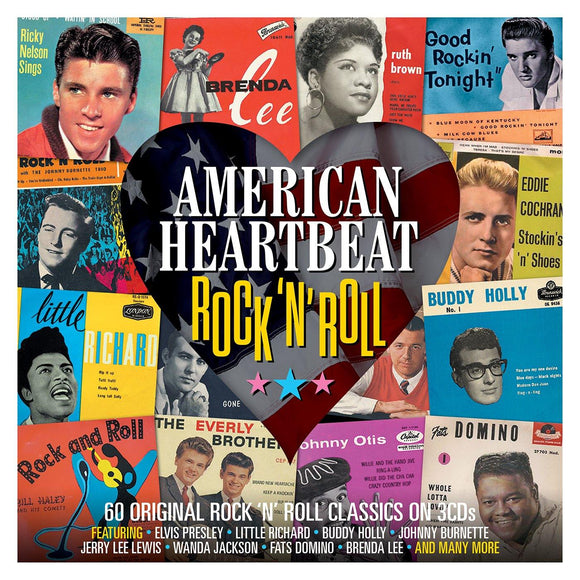 VARIOUS: AMERICAN HEARTBEAT – ROCK 'N' ROLL NEW CD