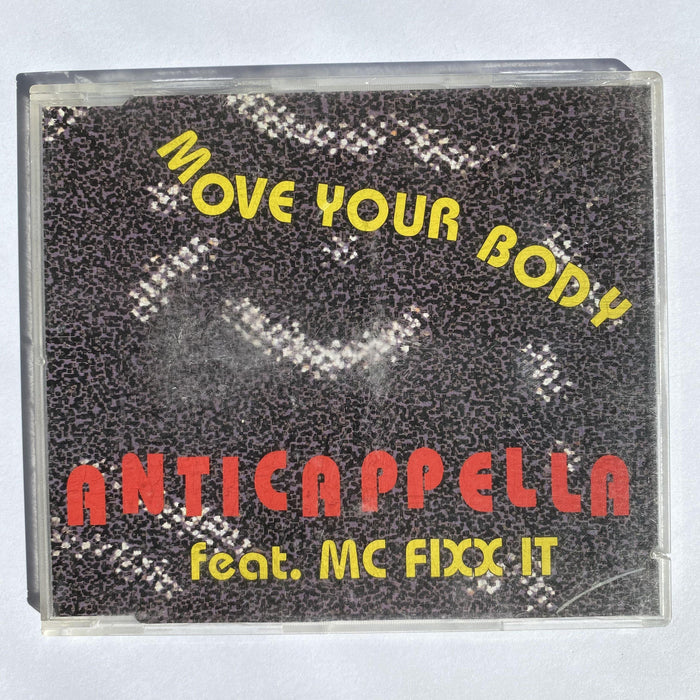 Anticappella featuring MC Fixx It: Move Your Body - DD Music Geek
