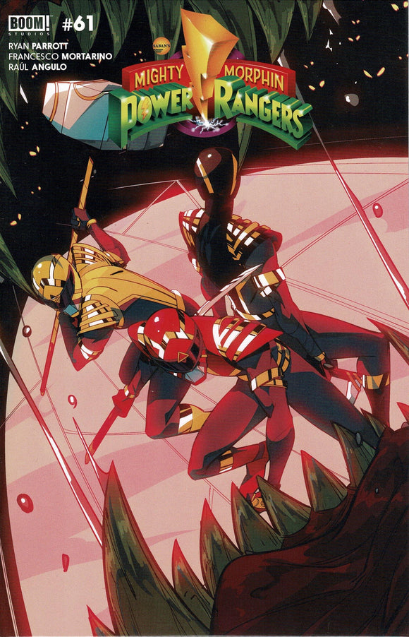 MIGHTY MORPHIN #3 VARIANT COVER