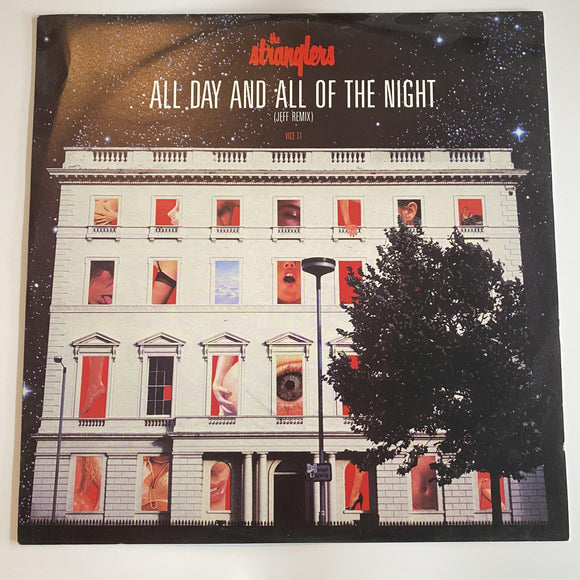The Stranglers: All Day And All Of The Night (Jeff Remix) PREOWNED 12