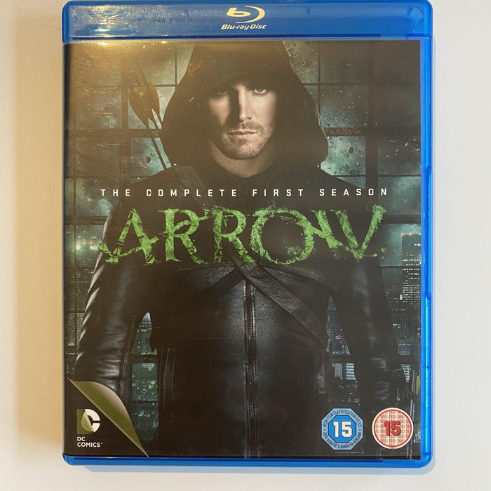 Arrow: The Complete First Season PREOWNED BLU-RAY - DD Music Geek