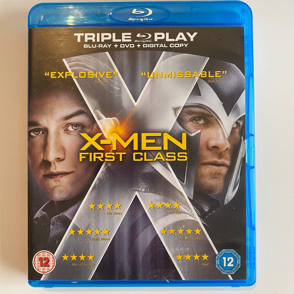 X-Men: First Class (2011) PREOWNED BLU-RAY