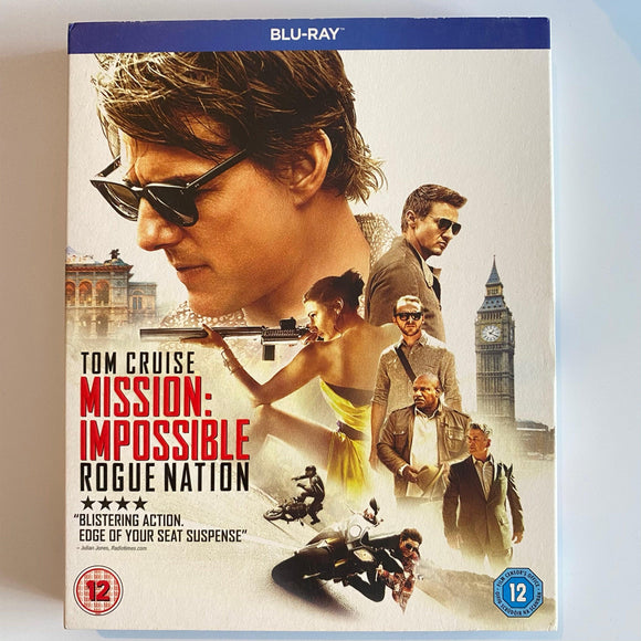 Mission Impossible: Rogue Nation (2015) PREOWNED BLU-RAY