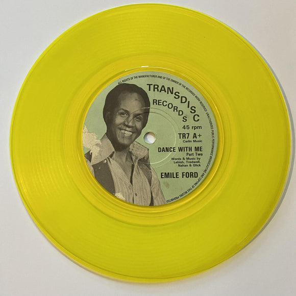 Emile Ford: How Can I Live Without You / Dance With Me YELLOW TRANSLUCENT PREOWNED 7