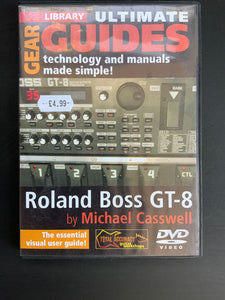 Lick Library  Roland Boss GT-8 Ultimate Guide DVD