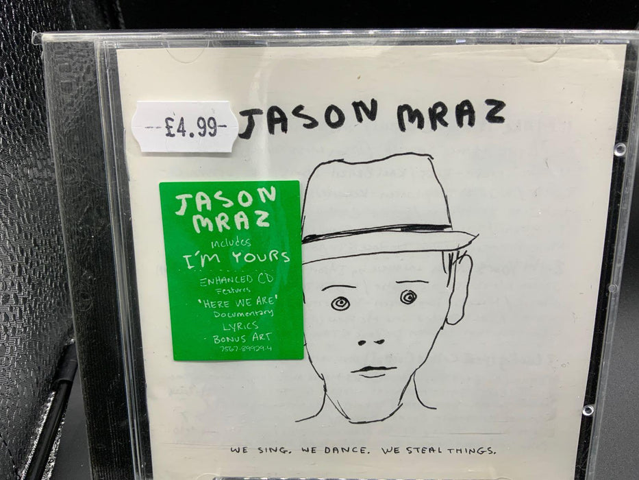 Jason Mraz: We Sing, We Dance, We Steal Things