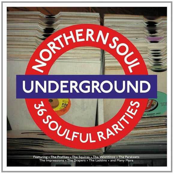 Northern Soul Underground - 36 Soulful Rarities (2LP Gatefold 180g Vinyl)