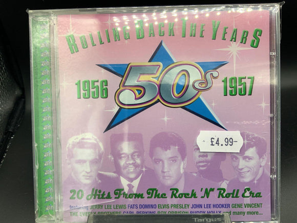Various: Rolling Back The Years 50s: 1956 1957