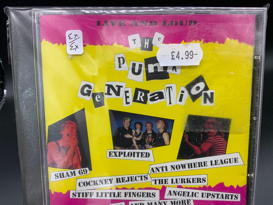 Various: Live and Loud: The Punk Generation