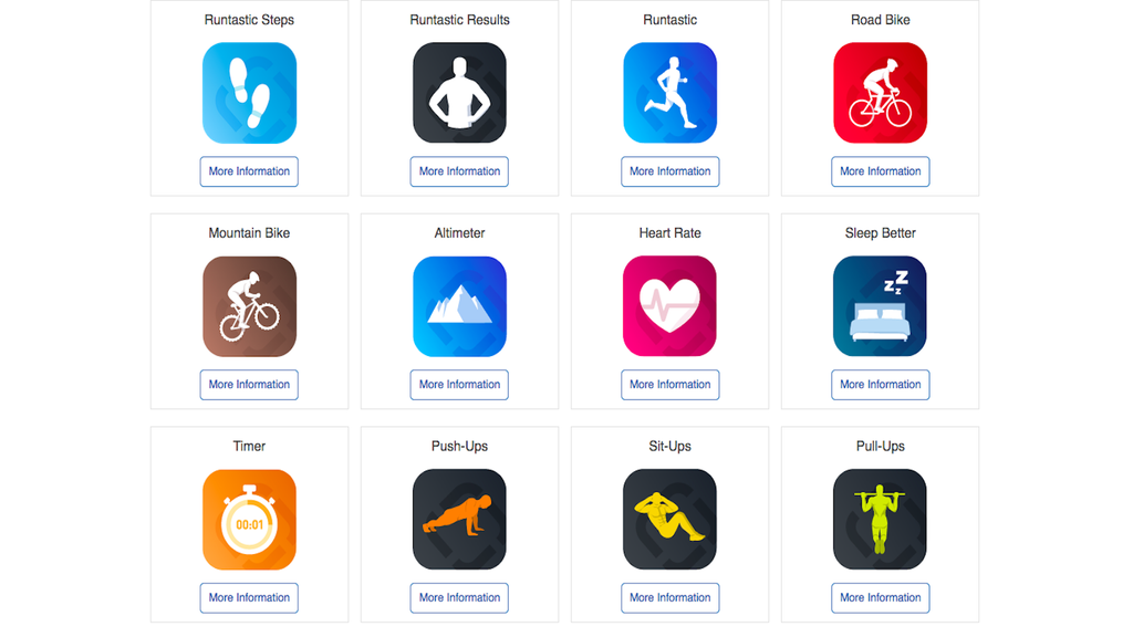 4 Great Fitness Apps