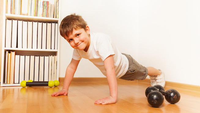 5 Ways to Get Your Kids Excited About Working Out