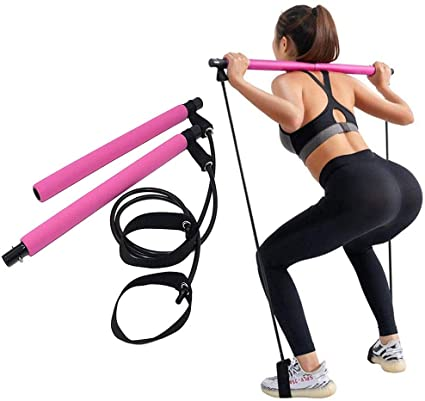 nuPILATES - Portable Pilates Bar - nuBANDS