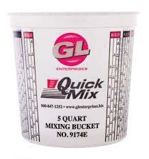 5 quart Mix Cup With Measurements CASE OF 25