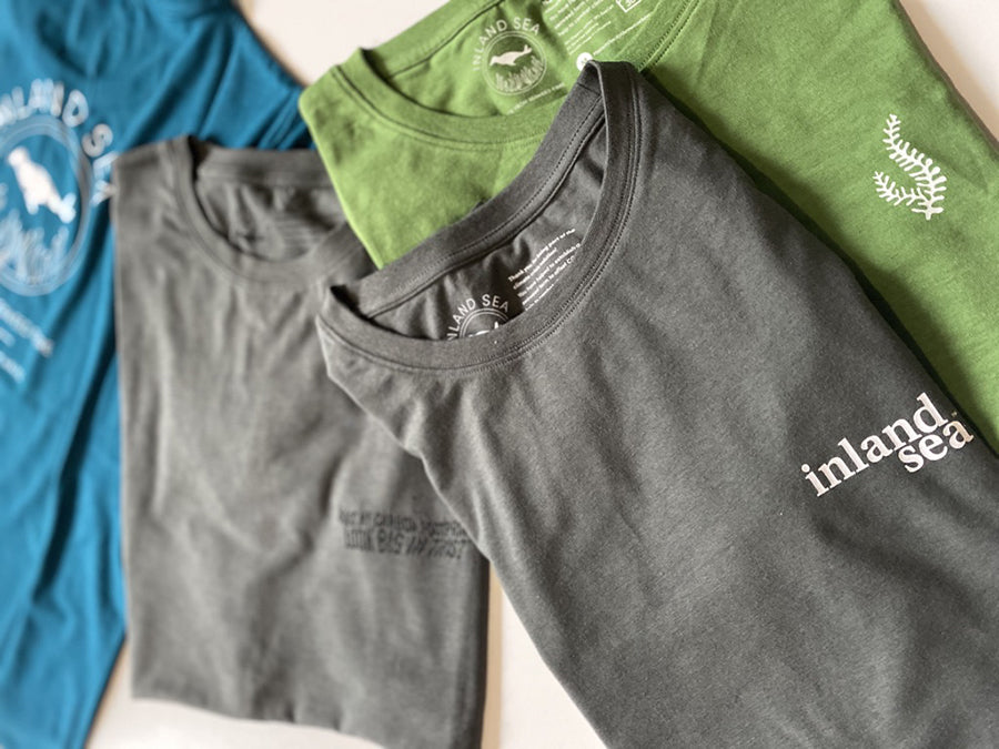 T-shirts made from seaweed fibre