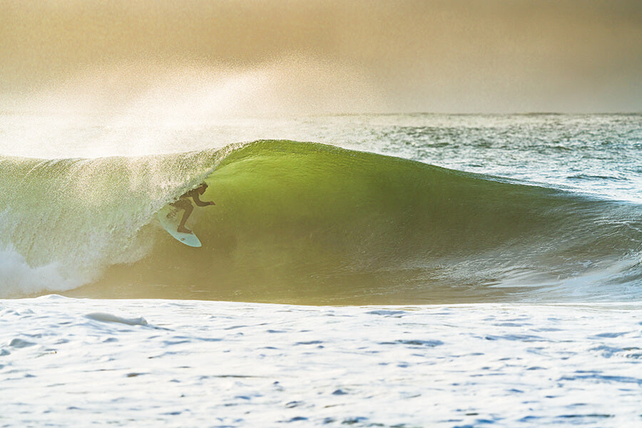 Surfing in North Wales