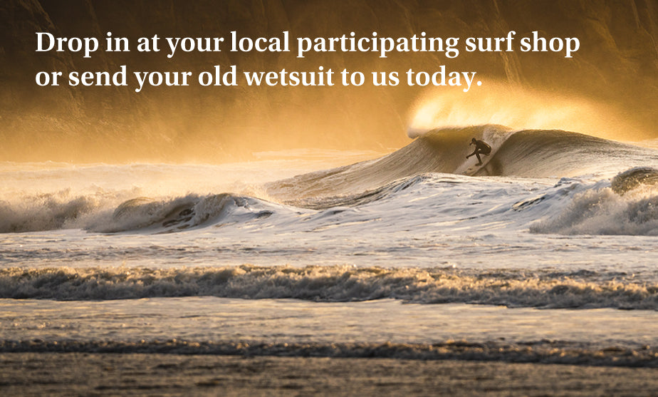 Up-cycle your old wetsuit