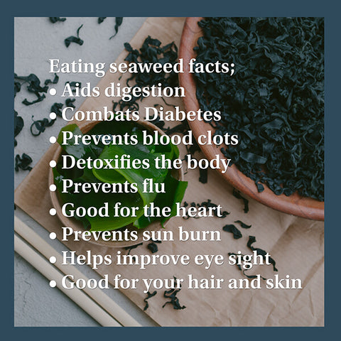 Seaweed is good for thyroid problems