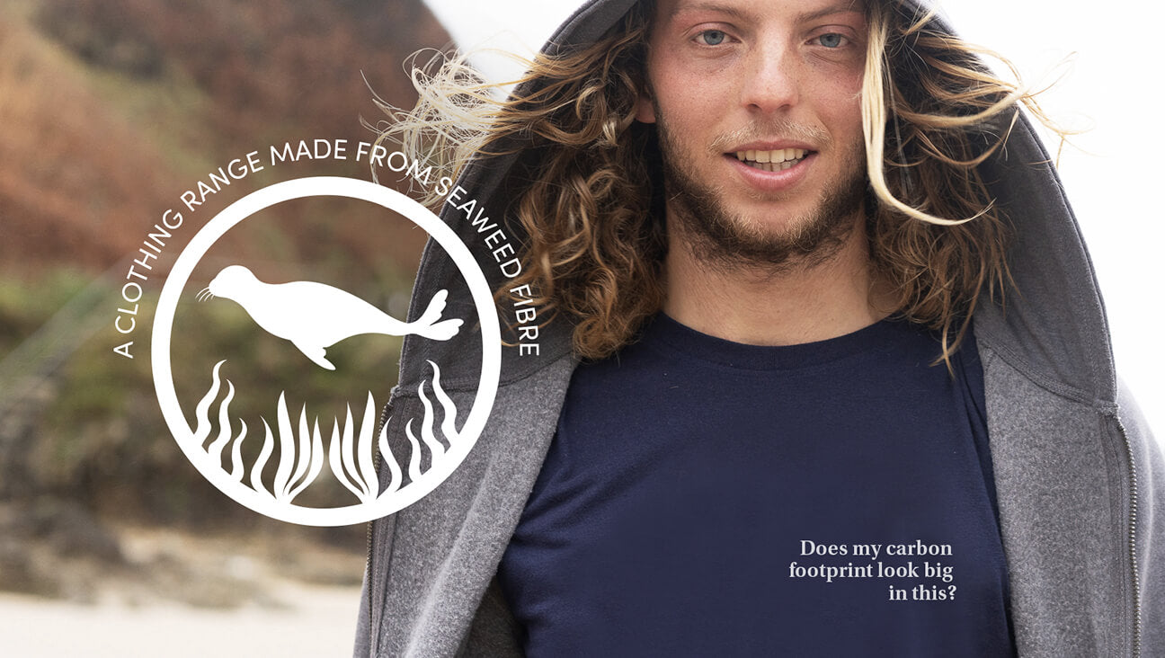 T-shirts made from seaweed