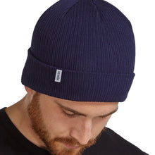 Load image into Gallery viewer, organic-beanie blue