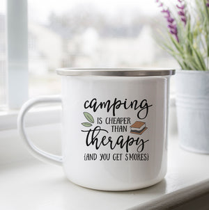 Camping Cheaper than Therapy Camp Cup