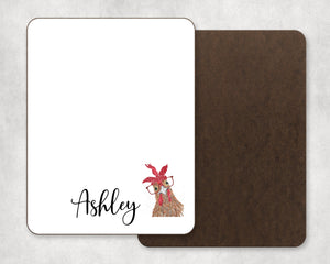 Personalized Chicken Dry Erase Board