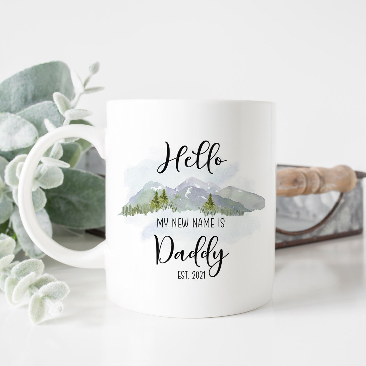 My New Name is Daddy Mug