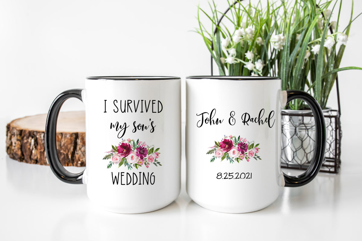 I Survived My Son's Wedding Mug
