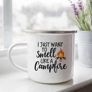 Smell Like a Campfire Camp Cup