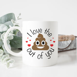 Funny I Love You Mug