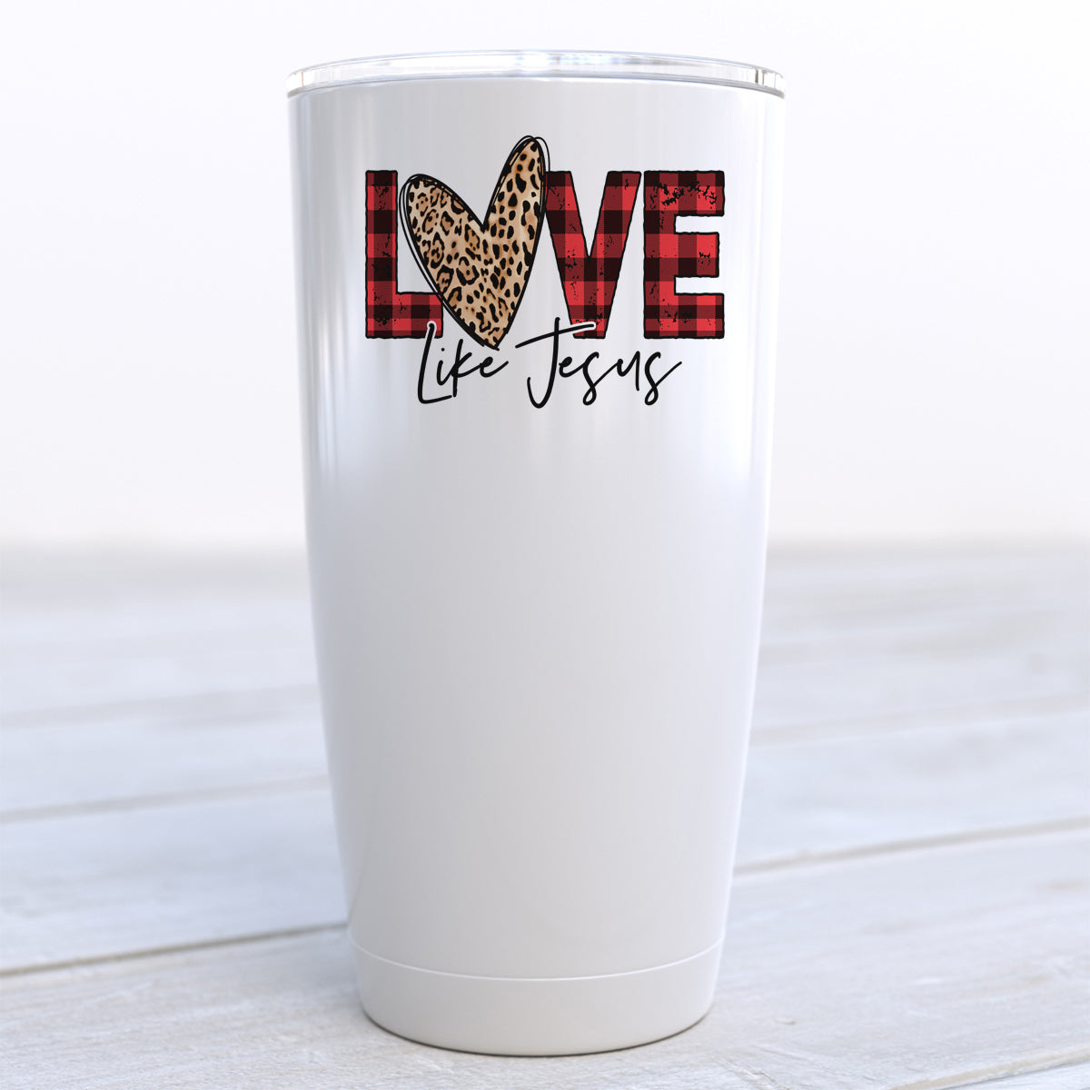 Love Like Jesus Travel Cup