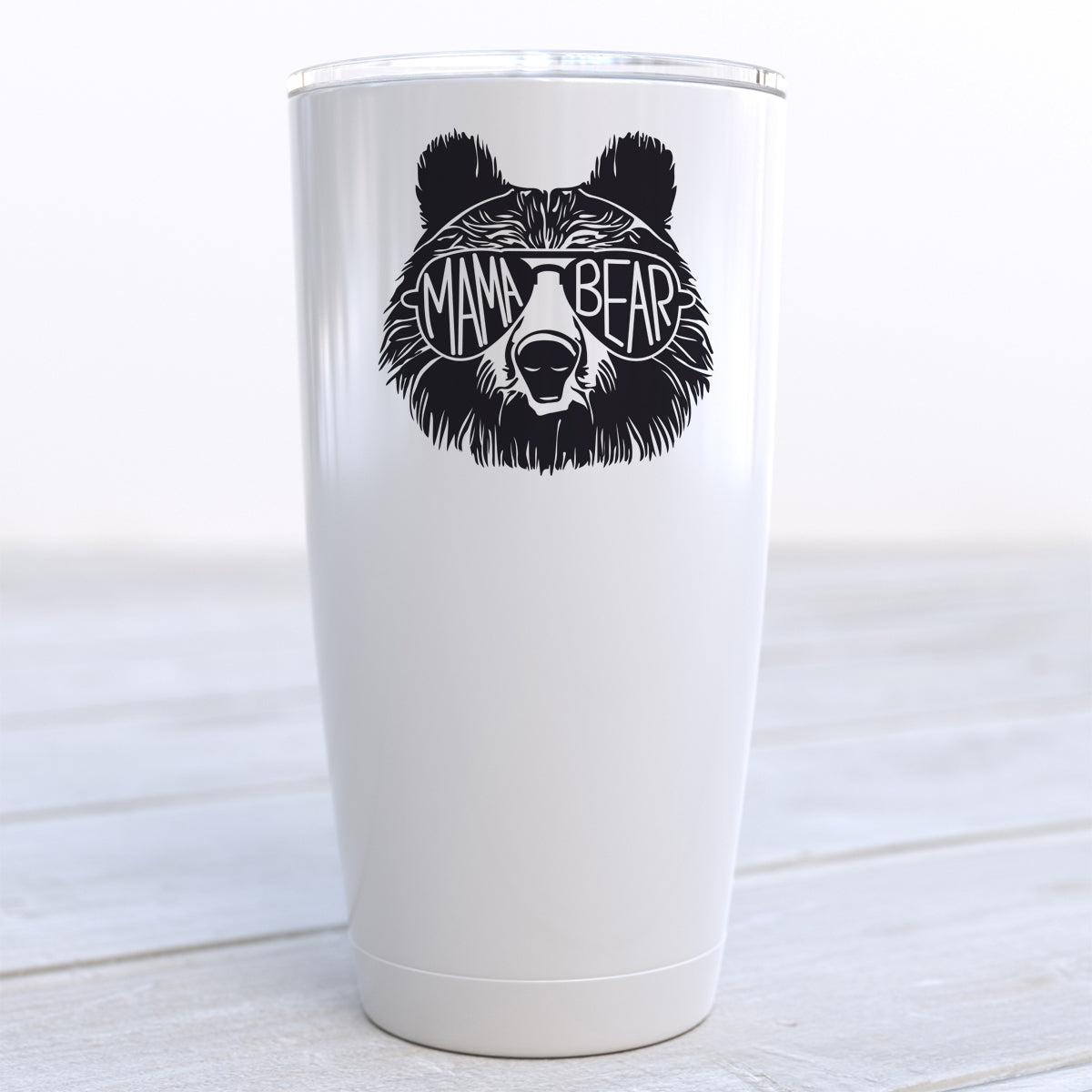 Mama Bear Sunglasses Travel Cup