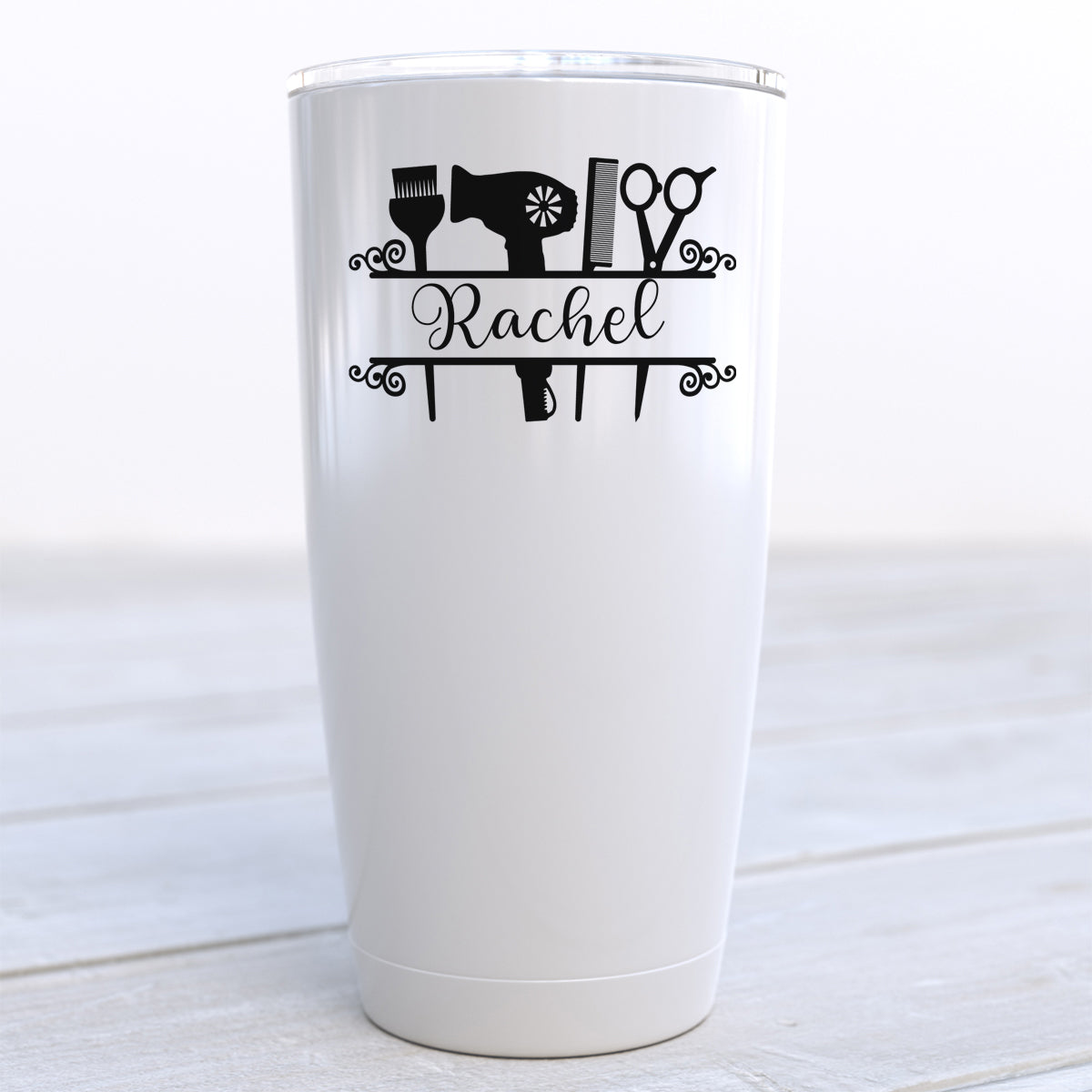 Personalized Hair Stylist Travel Cup