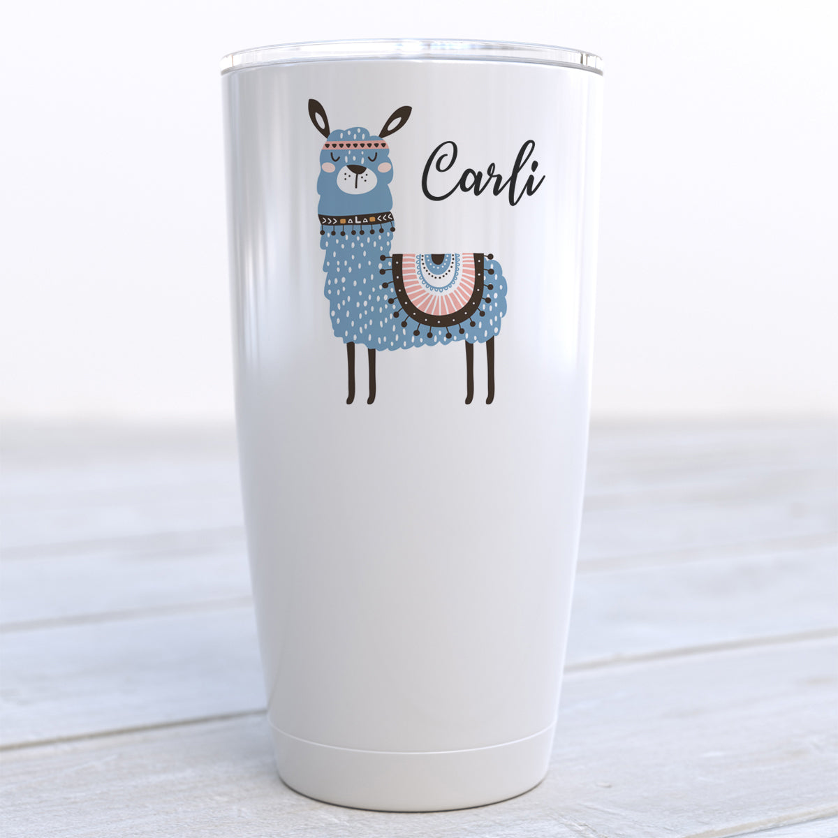 Personalized Llama Travel Cup
