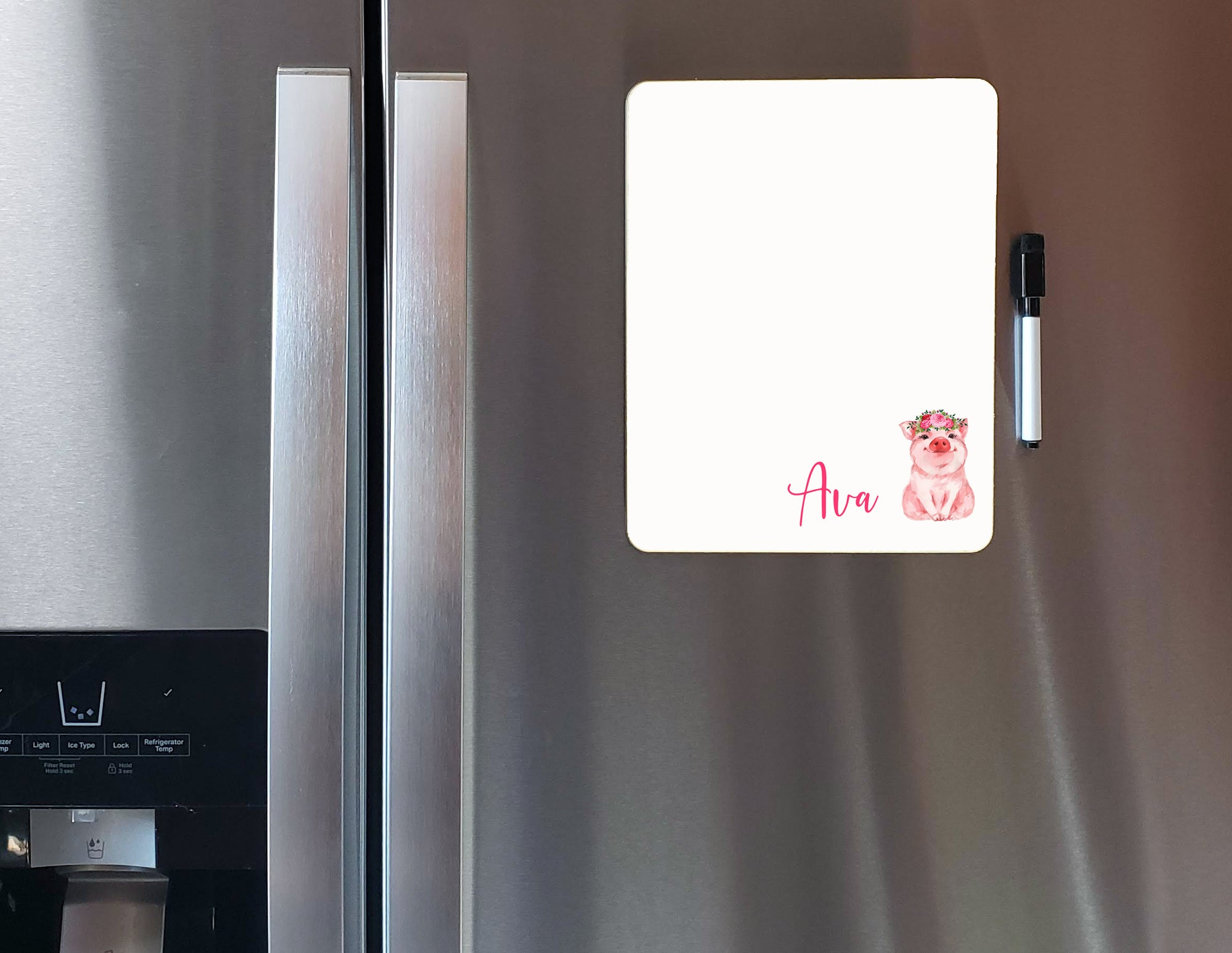 Personalized Pig Dry Erase Board