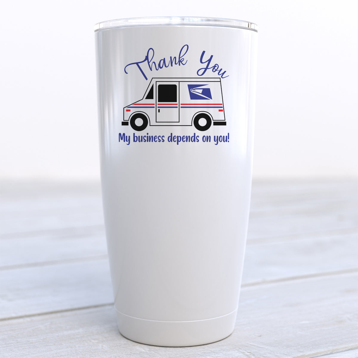 Thank You My Business Depends On You Travel Cup