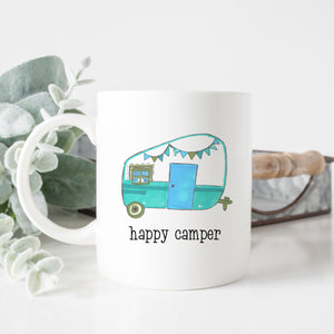 Vintage Happy Camper Mug
