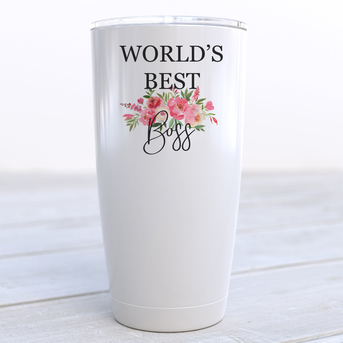 World's Best Boss Travel Cup