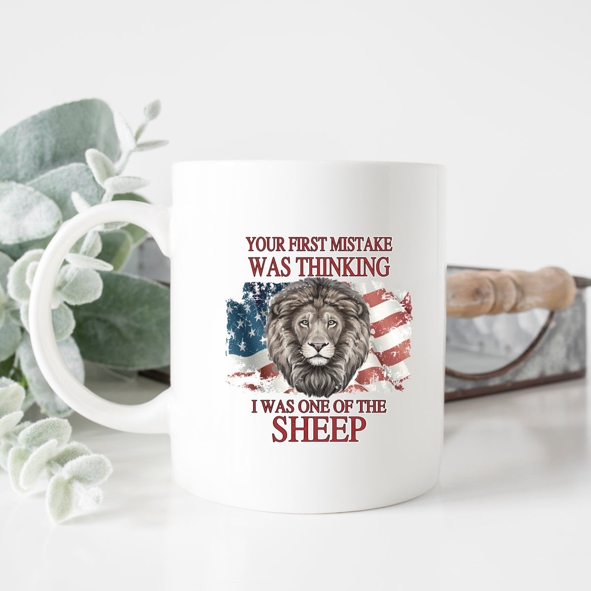 Your First Mistake Assuming I Was a Sheep Mug