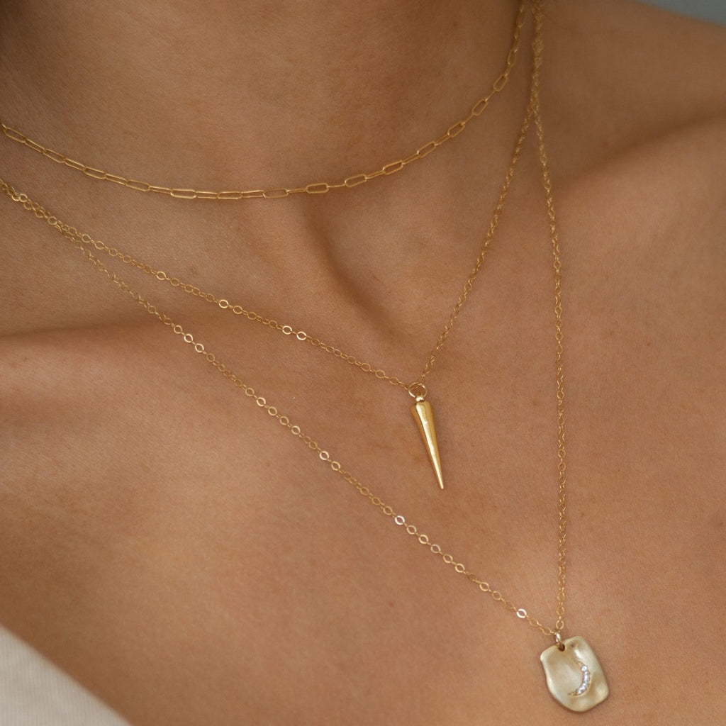 Cable Chain 14k Gold Filled