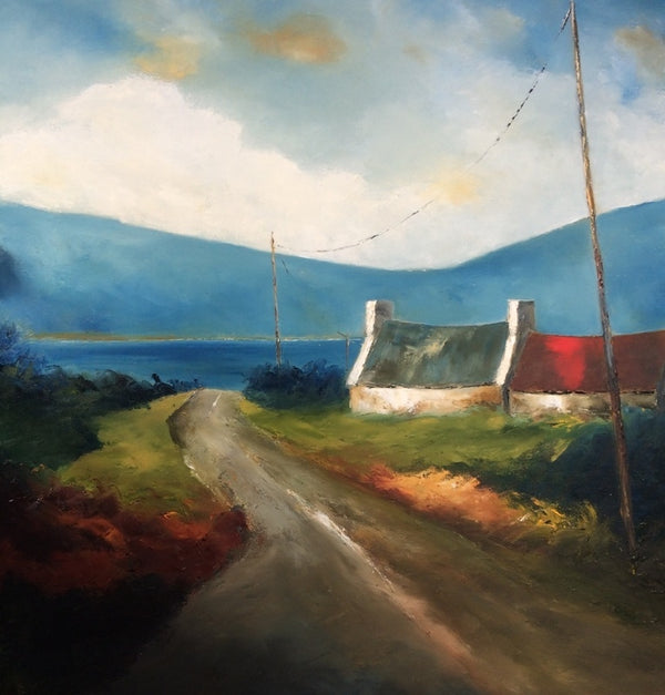 A Turn in the Road - Print - Padraig McCaul