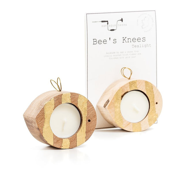 Bee's Knees – Tea Light Holder – Sam agus Nessa