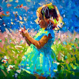 Childhood Is A Short Season (Girl) - Limited Edition Print - Paul Maloney