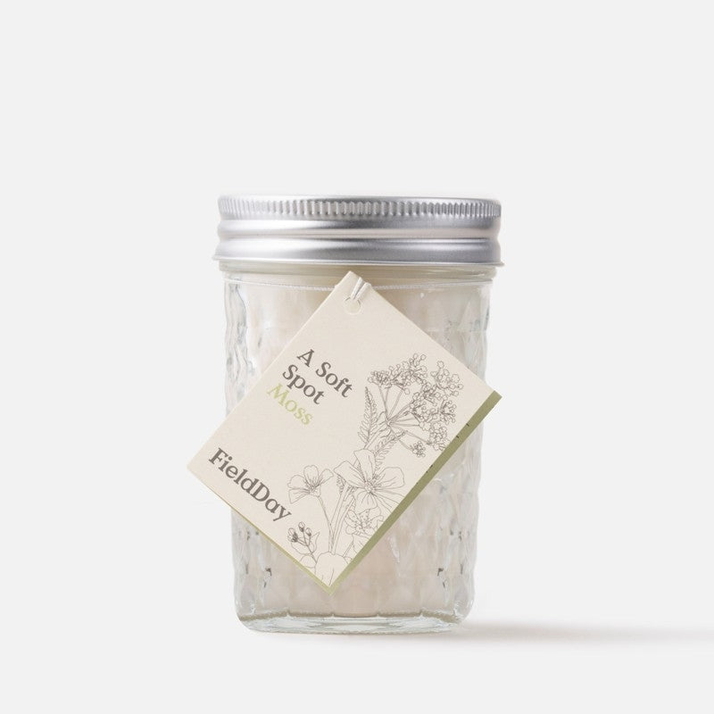 Moss Jam Jar Candle – Field Day