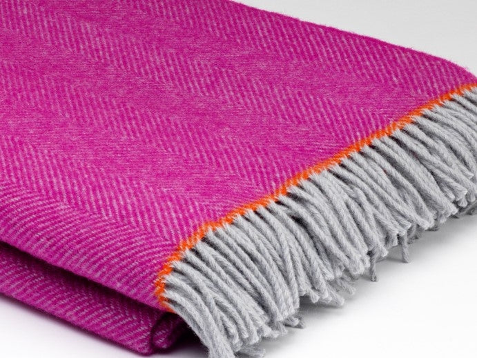 Pure Wool Throw - Mabel - McNutt of Donegal